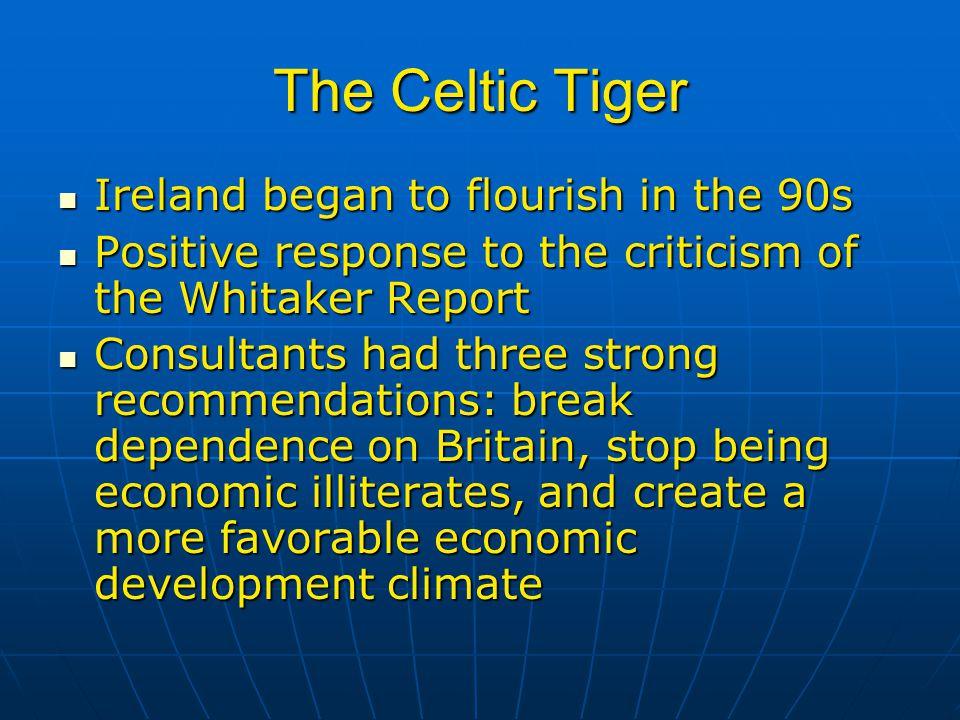 Economic Progress in Ireland The nation represents a true economic miracle The nation represents a true economic miracle Is Ireland a model.