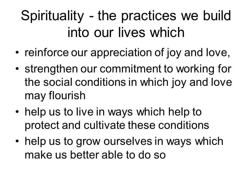 Meaning, spirit and activism 'Meaning as a 'social determinant of health' (...