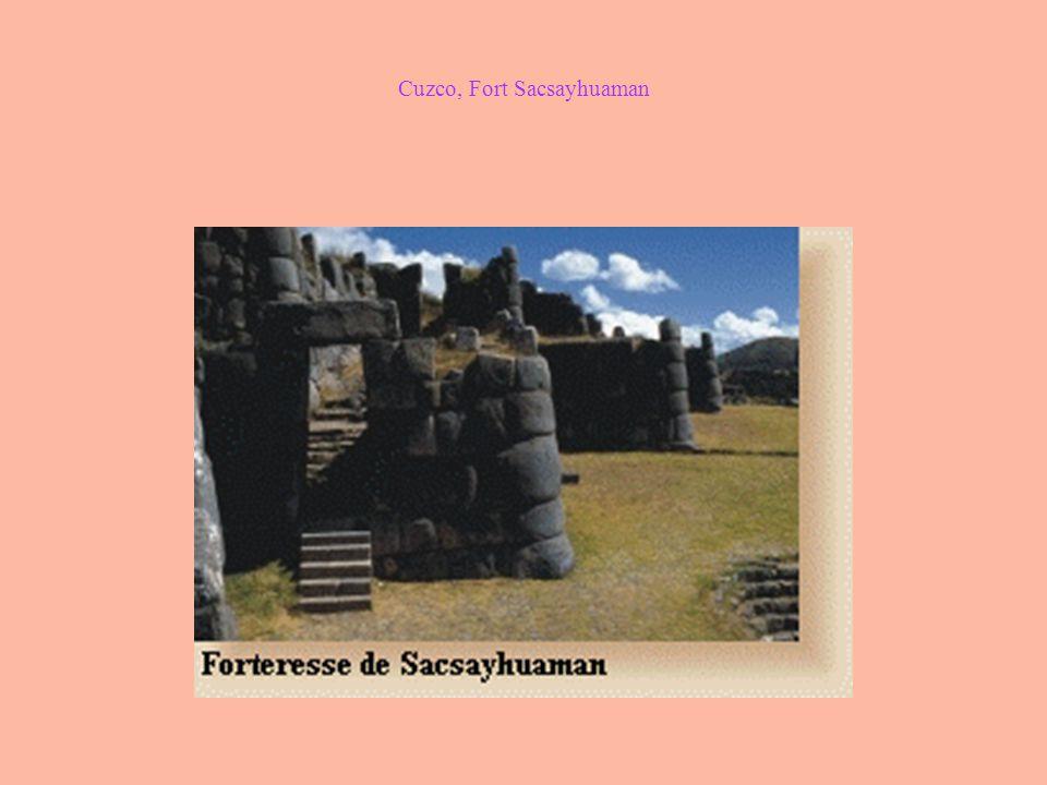 Cuzco, Fort Sacsayhuaman