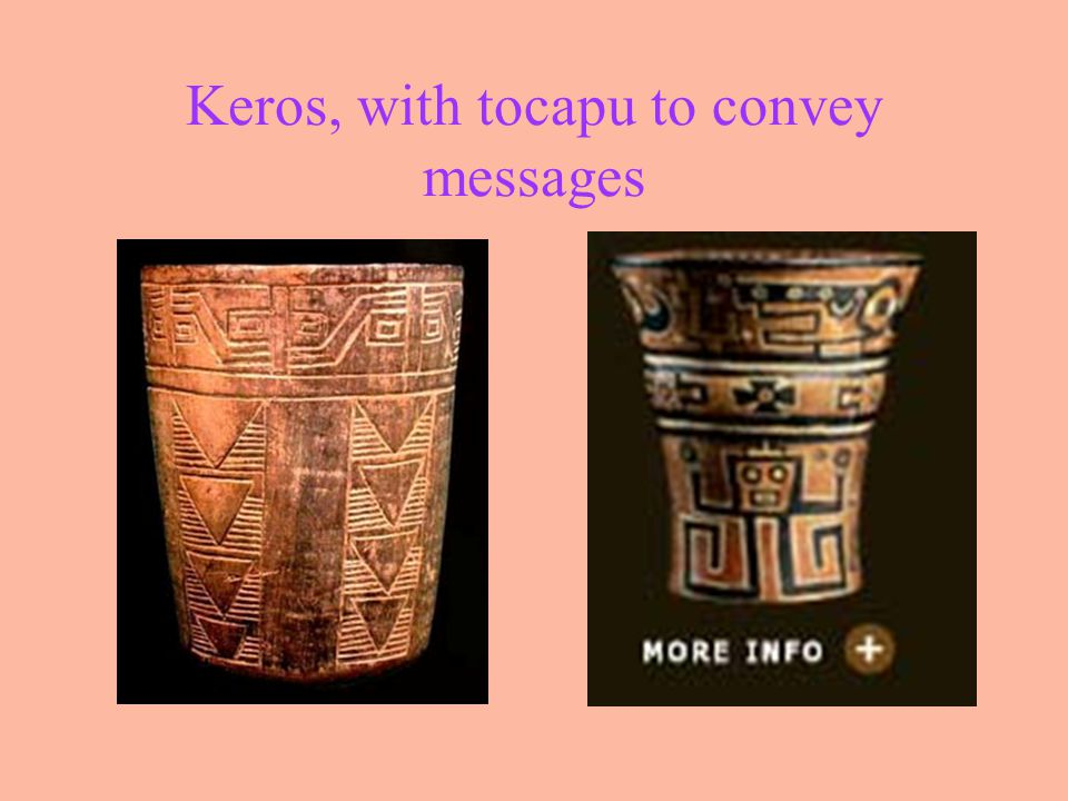 Keros, with tocapu to convey messages