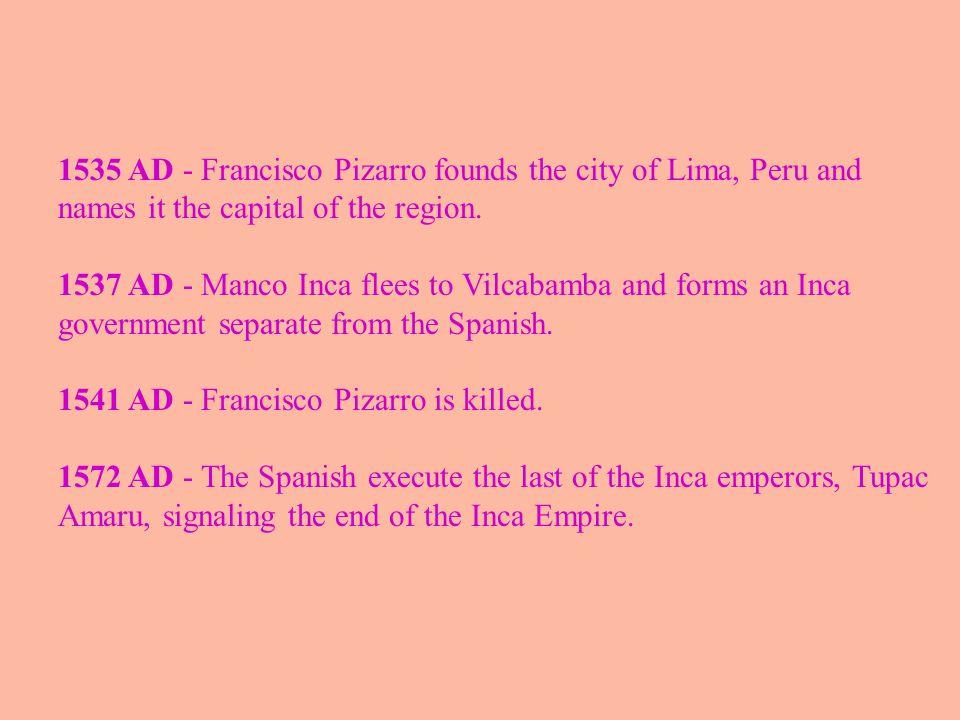 Map of the Empire Tawantinsuyo Inca