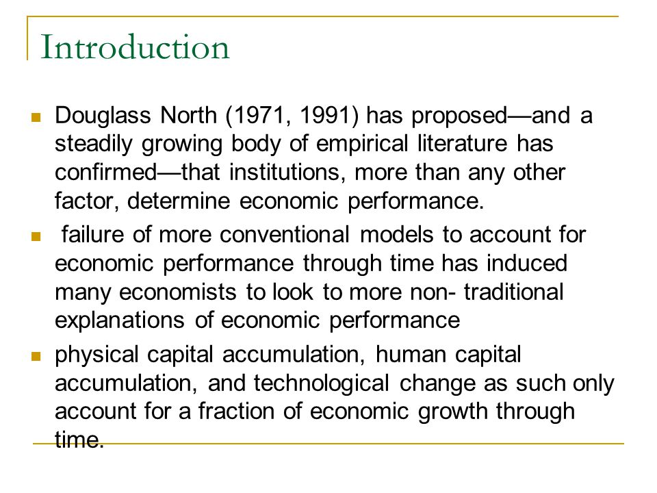 Theoretical Approaches: Max Weber Blum and Dudley (2001) provide another version of the Weber thesis, arguing that the Calvinist doctrine of predestination (in contrast to the Catholic practice of ritual penance), in game- theoretic terms, increased the cost of contractual defection (i.e., breaking contracts was a bigger deal for Protestants).