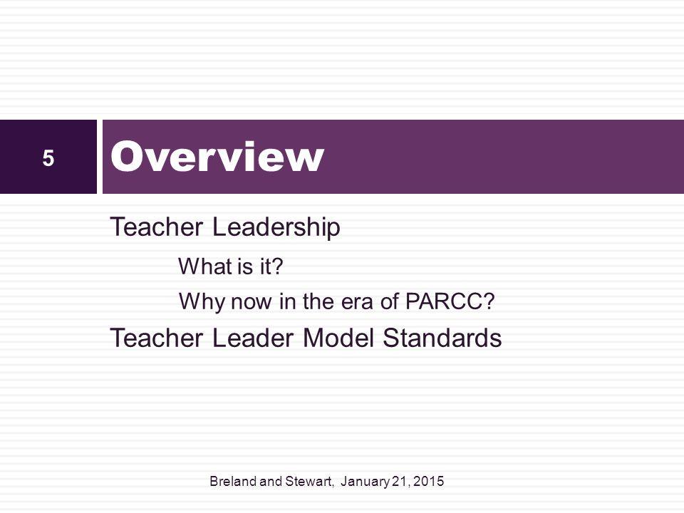 What is teacher leadership.