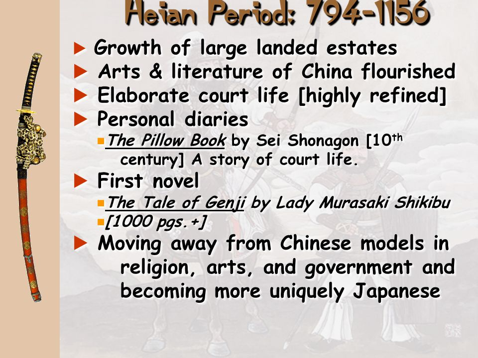 Social and Political: Compare the Japanese Heian Period with the High Middle Ages leading to the Renaissance in Europe