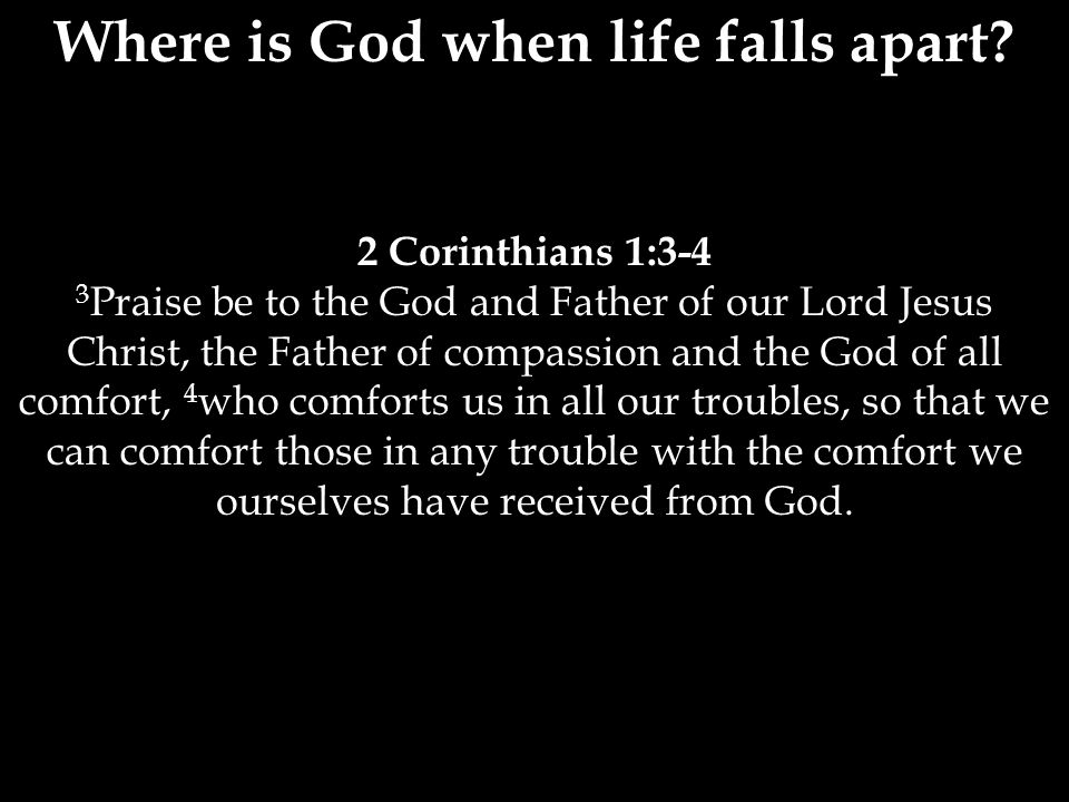 2 Corinthians 13:5-6 5 Examine yourselves to see whether you are in the faith; test yourselves.