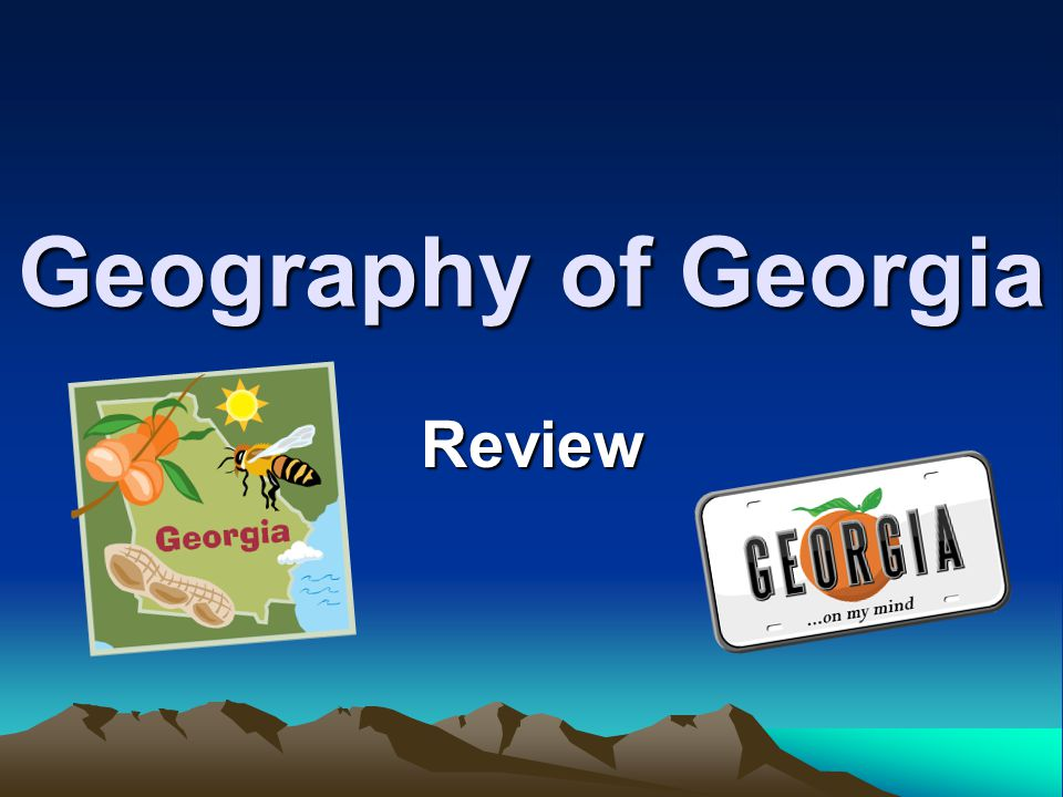If you were hiking from Georgia to Maine, which geographic region would be the best starting point?