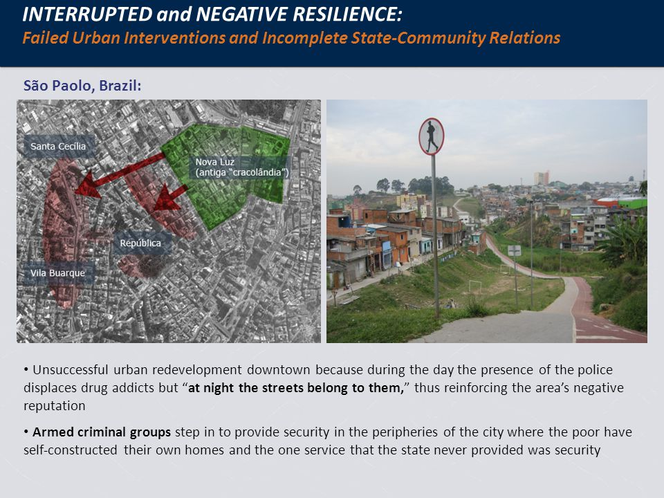 EMERGING RESEARCH QUESTIONS: The role of design in urban resilience Have certain cities been better designed to enable resilience.