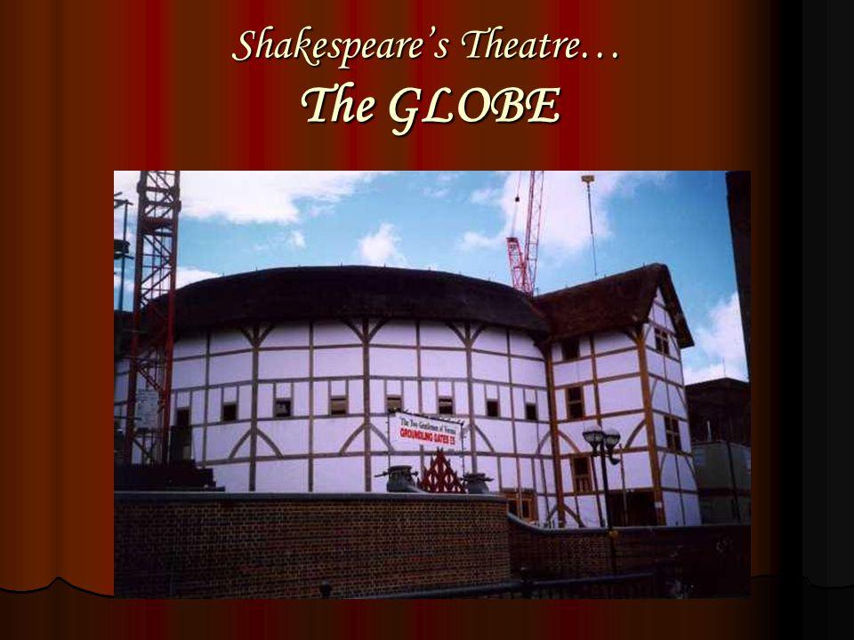 Shakespeare's Theatre… The GLOBE