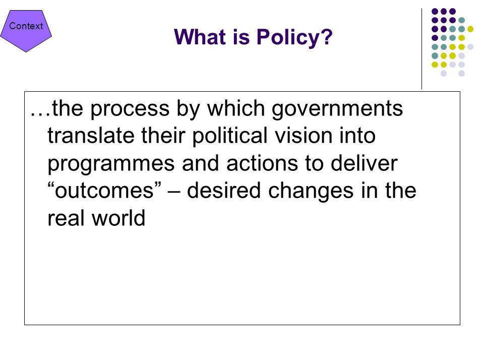 Public Value Substantively Valuable Legitimate & politically sustainable Operationally & administratively feasible Next Steps