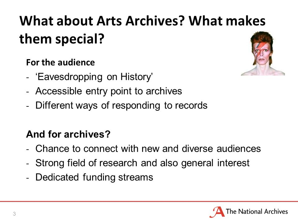 What about Arts Archives. What makes them special.
