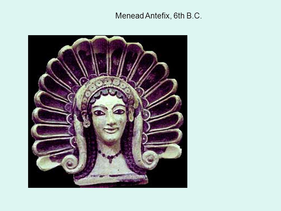 Menead Antefix, 6th B.C.