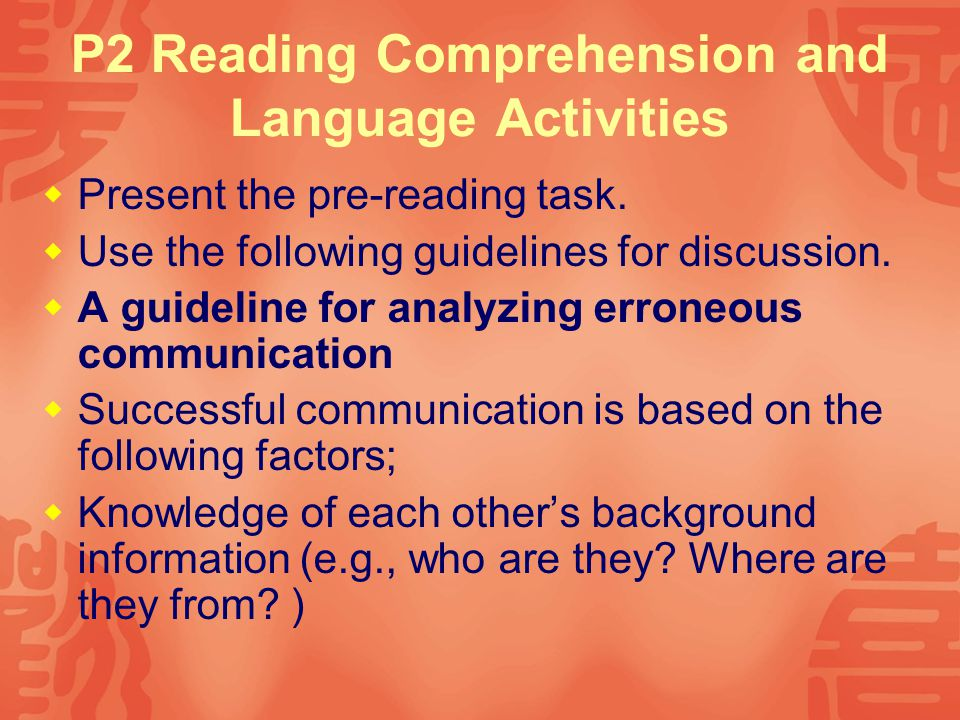 1 Comprehension work  Have the students work individually on the summary.