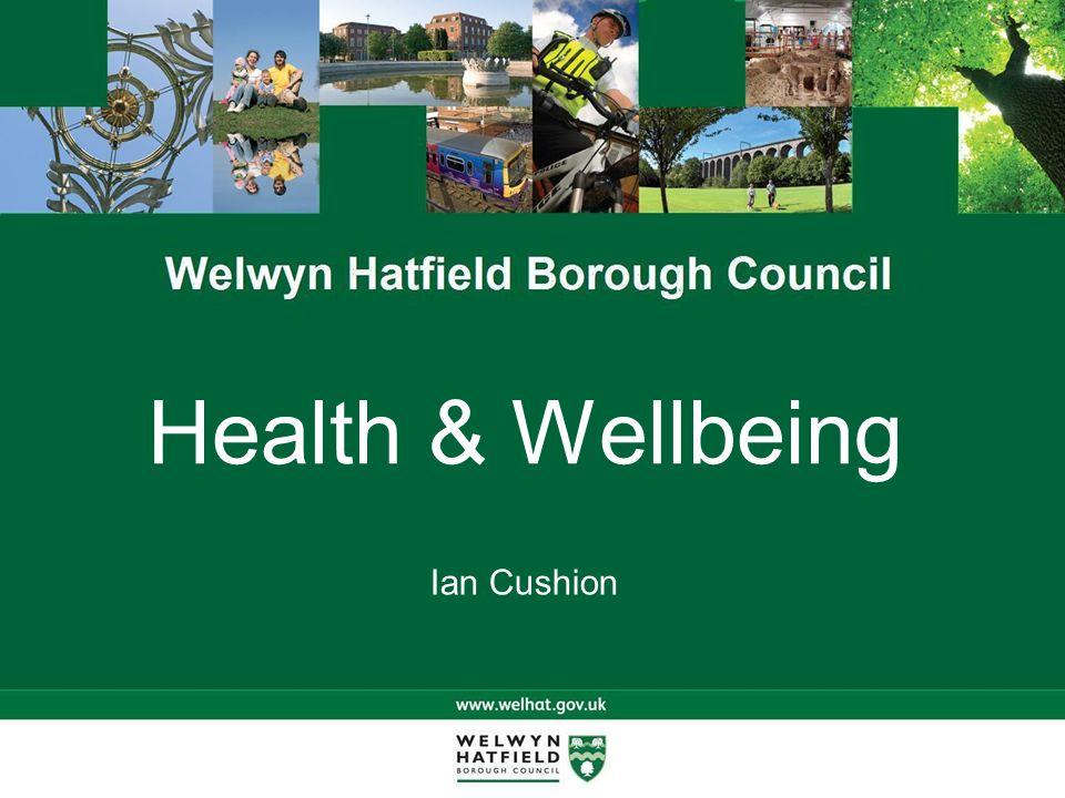 Health & Wellbeing Ian Cushion