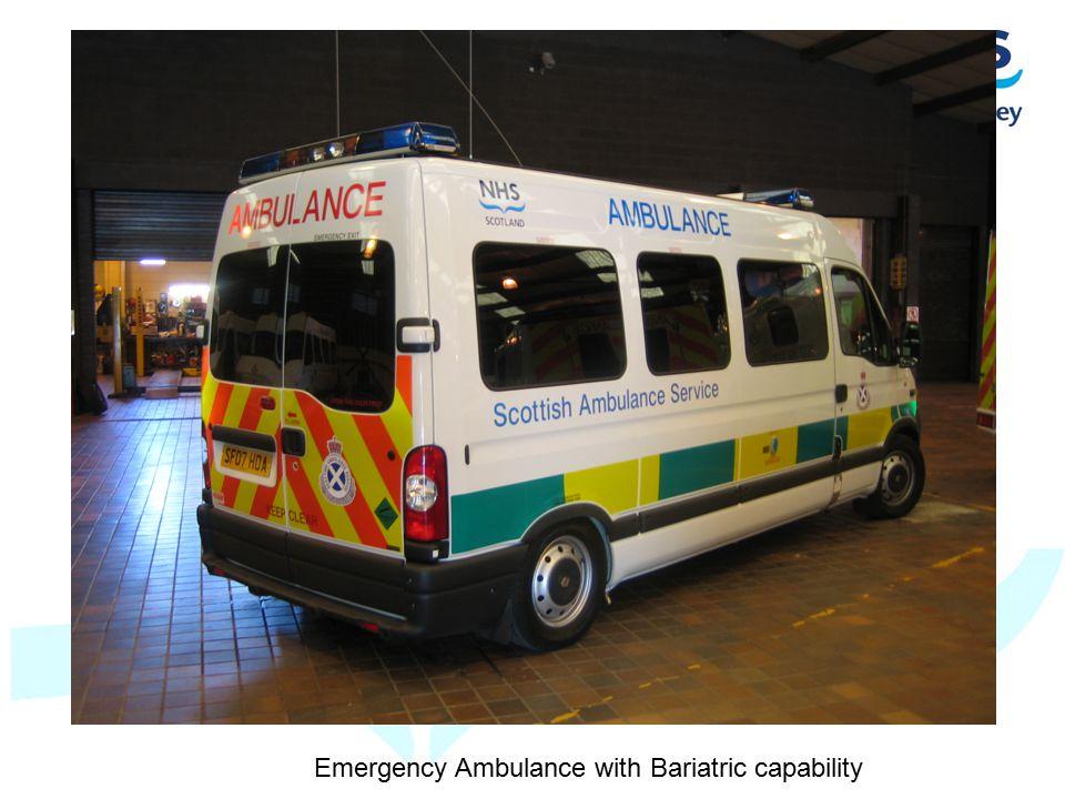 Emergency Ambulance with Bariatric capability