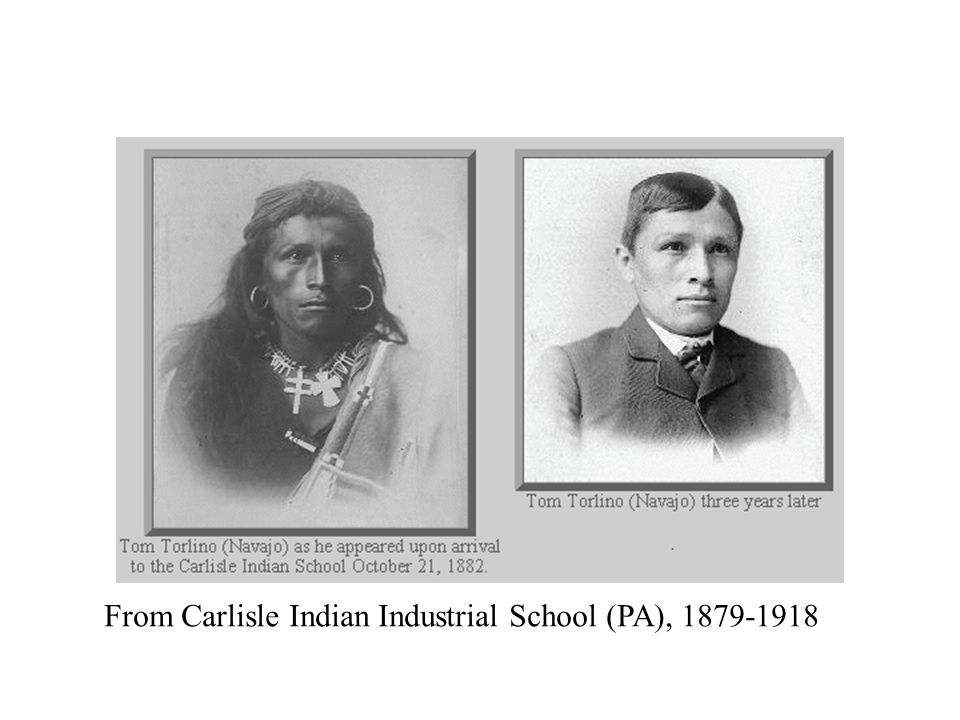From Carlisle Indian Industrial School (PA), 1879-1918
