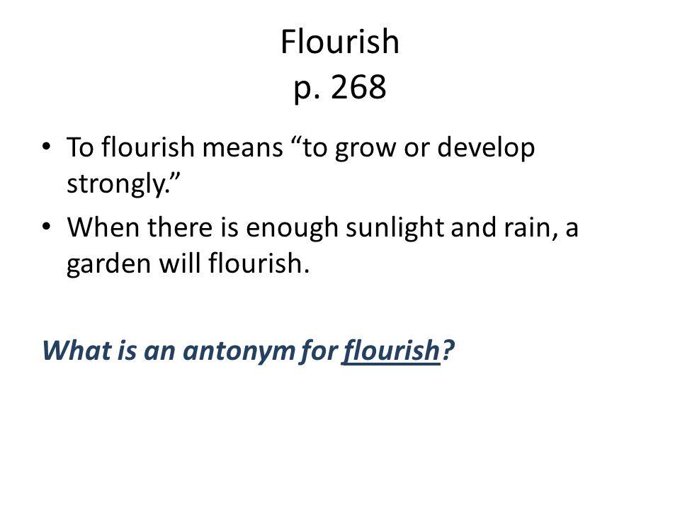 Flourish p.