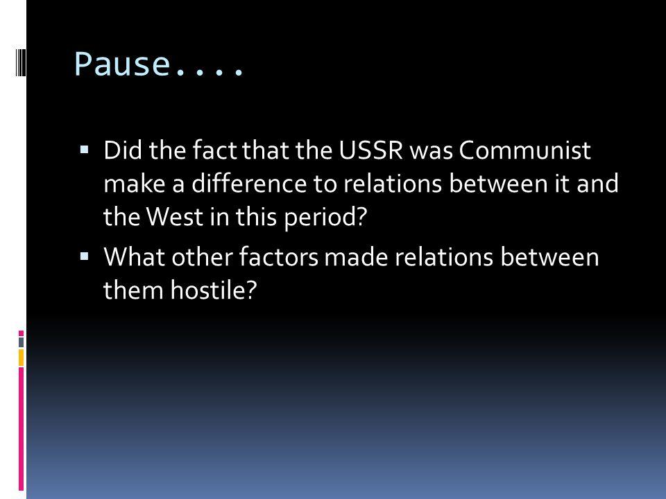 Pause....