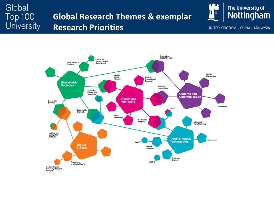 Global Research Themes & exemplar Research Priorities