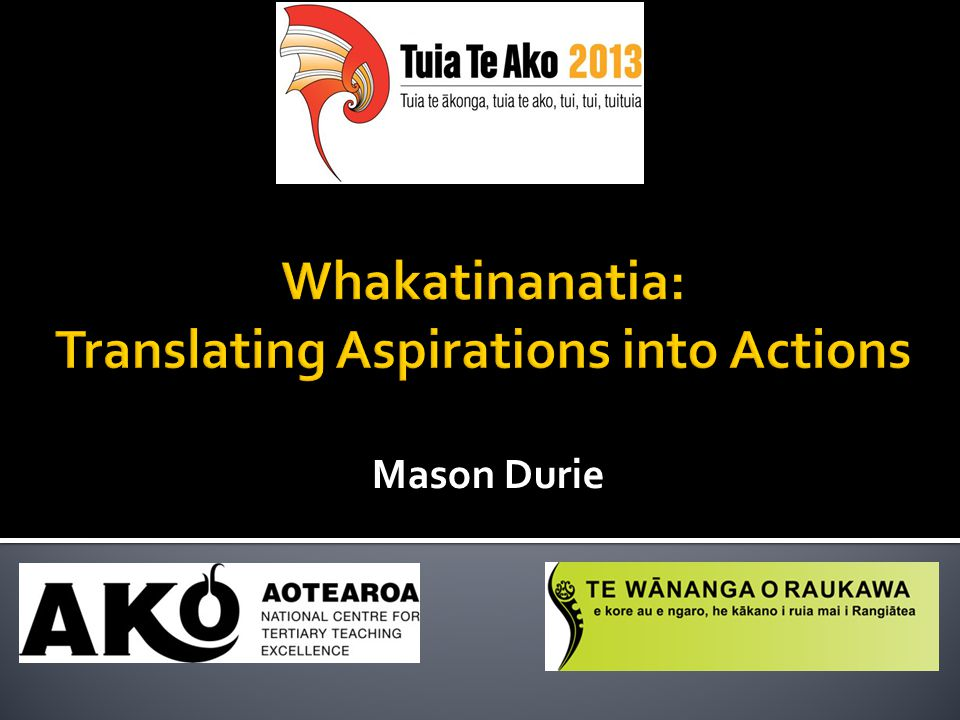 1. How can full Māori participation in tertiary education be achieved ?
