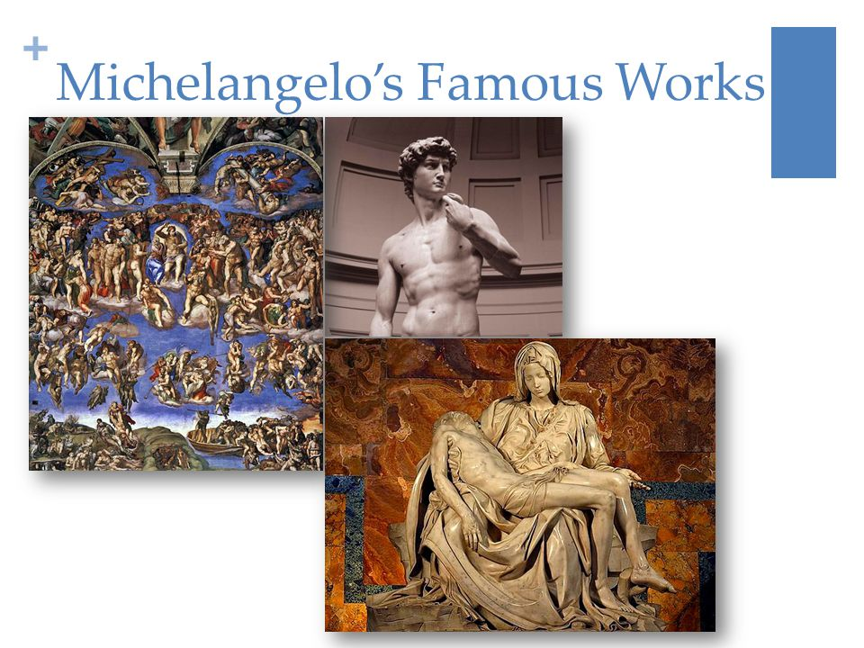 + Michelangelo's Famous Works