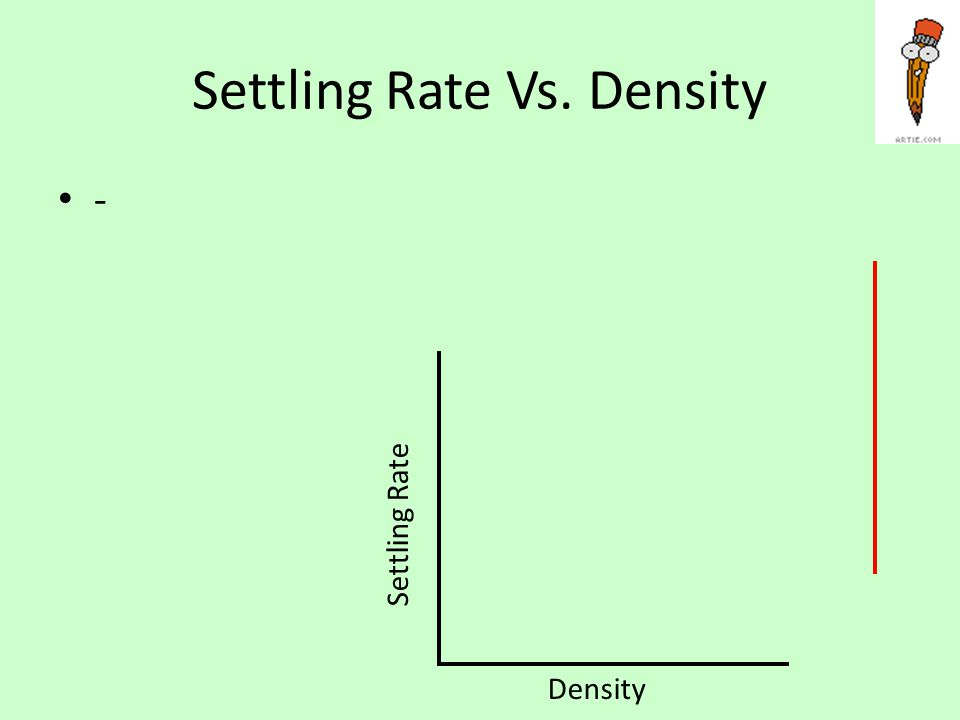 Final Question What are the factors that affect the settling rates of sediments? ---
