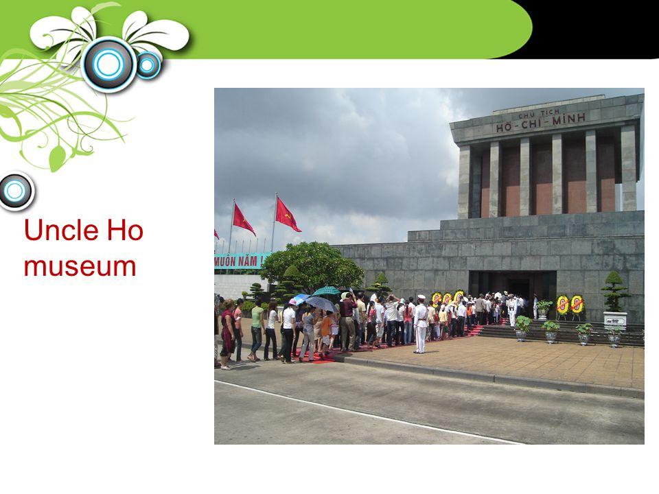Uncle Ho museum