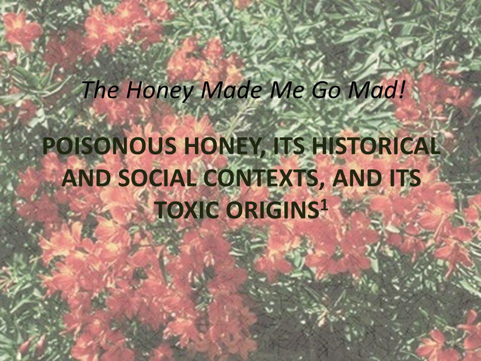 The Honey Made Me Go Mad.
