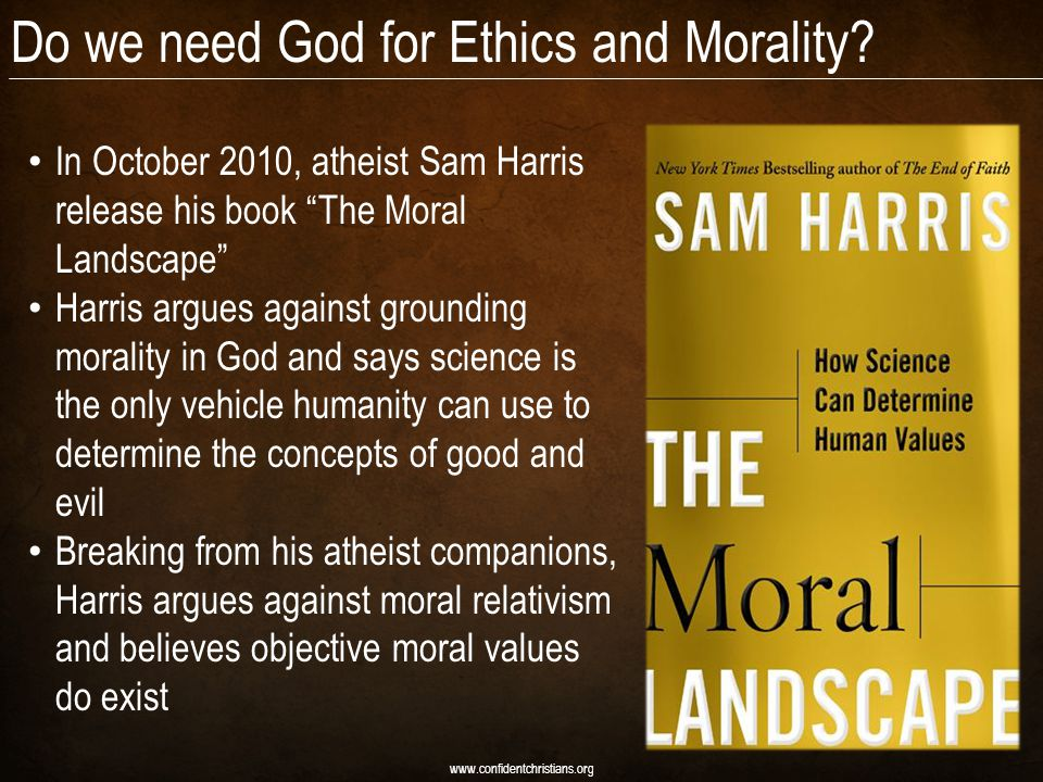 Do we need God for Ethics and Morality.