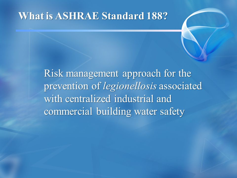 Who is Responsible for Implementing and Managing Building Water Safety and Managing Building Water Safety