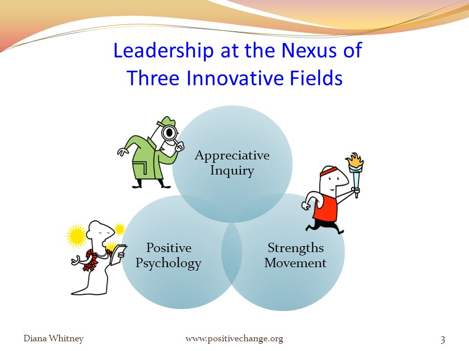 What is Appreciative Inquiry (AI)? 4 Diana Whitney www.positivechange.org