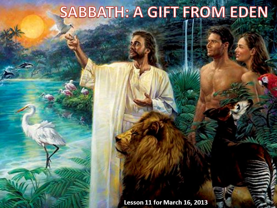 We will answer three questions about Sabbath in this week's lesson: A.Why must we keep the Sabbath.