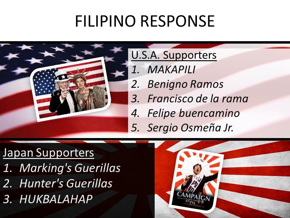 FILIPINO RESPONSE U.S.A.
