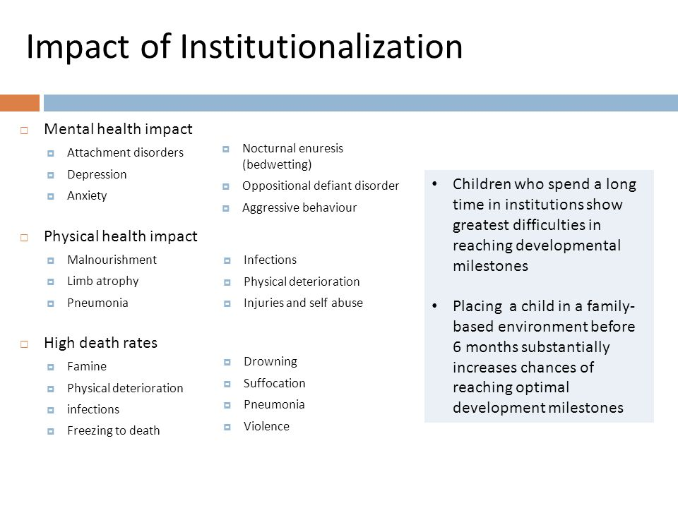 Early Childhood Interventions (ECI) Benefits in HIC & LAMICs well documented: improved cognitive development reduced antisocial behaviour, depression, & health risk behaviours Building of critical skills for children and parents  ECIs are multidisciplinary services designed to meet developmental needs of children  Assessment sensory-motor, cognitive, communication, social and emotional skills & functioning  ECIs include:  Psychosocial support  Physical and occupational therapy  Speech and language therapy  Nursing care services  Nutritional support