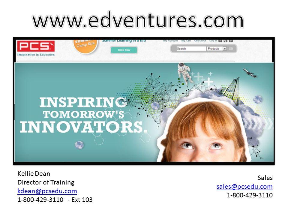 Kellie Dean Director of Training kdean@pcsedu.com 1-800-429-3110 - Ext 103 Sales sales@pcsedu.com 1-800-429-3110