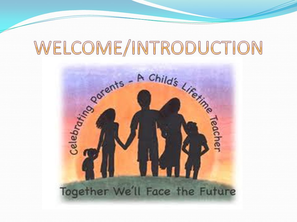 AGENDA Welcome/Introduction Define Parent involvement (PI) Why is PI Important Types of Parent Involvement Barriers Engaging Parents & Overcoming Obstacles What can parents do to get involved Building Family-School Partnership Q & A Resources