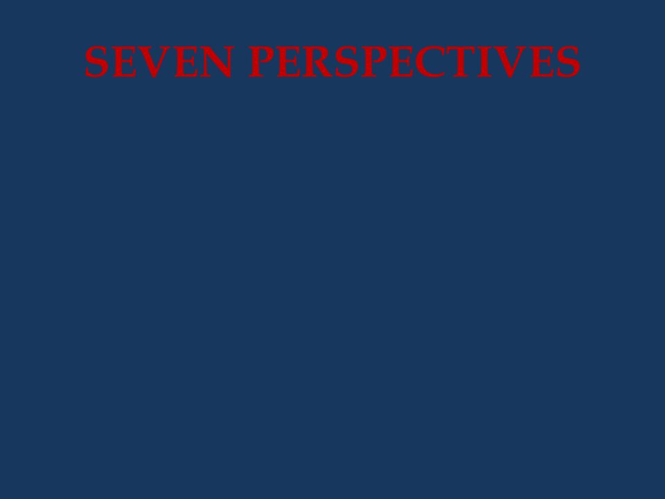 SEVEN PERSPECTIVES