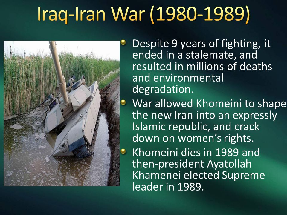 Despite 9 years of fighting, it ended in a stalemate, and resulted in millions of deaths and environmental degradation.