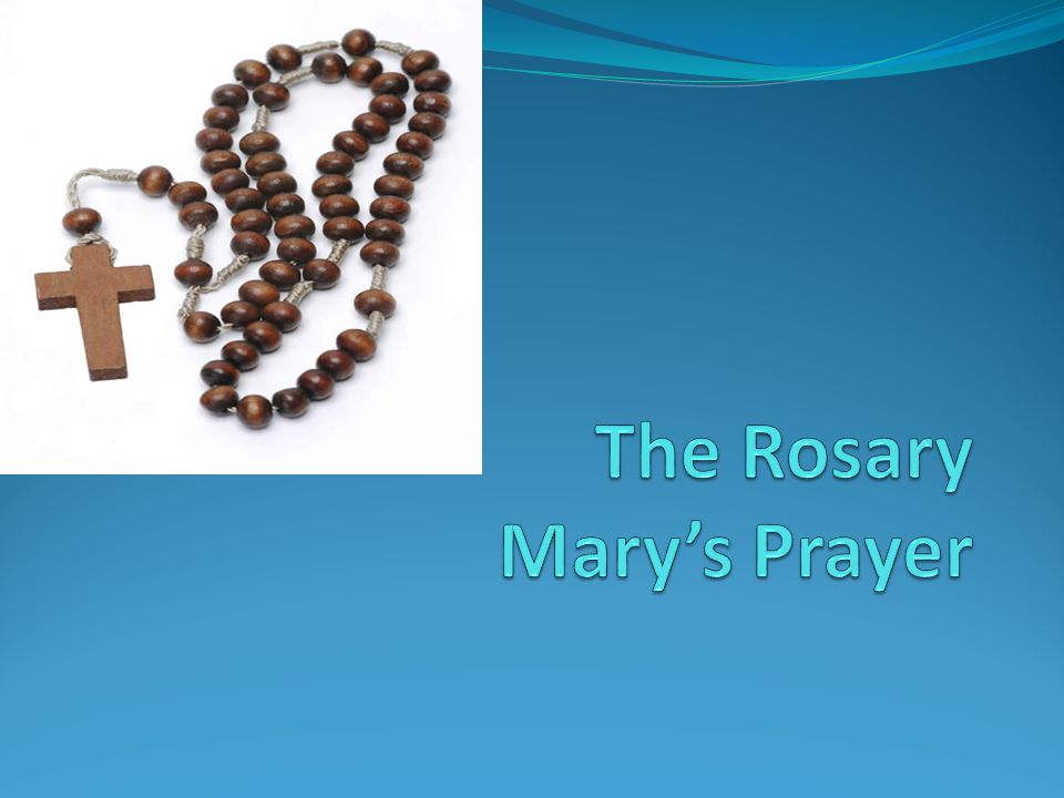 Activity- make your own rosary beads (One decade) You will need Pipe cleaners Small craft beads scissors Place 10 beads of your choice onto a pipe cleaner Bring the pipe cleaner around into a circle and twist it shut Place on one more bead for the our father Cut off the extra piece and twist it around to make the cross, trim of the excess where necessary.