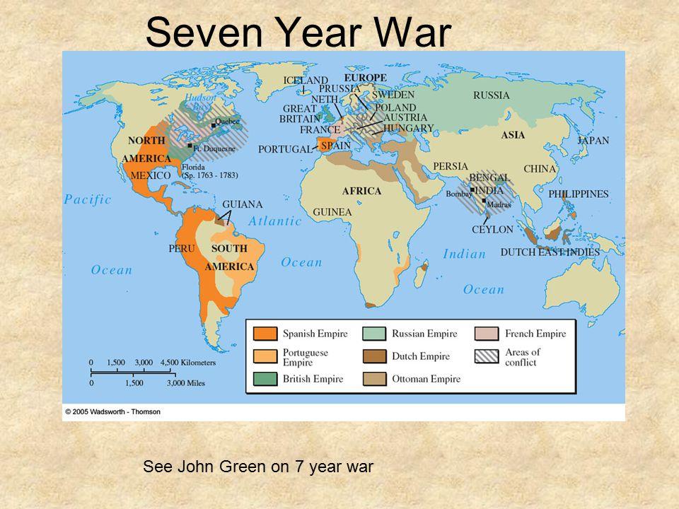 Seven Year War See John Green on 7 year war