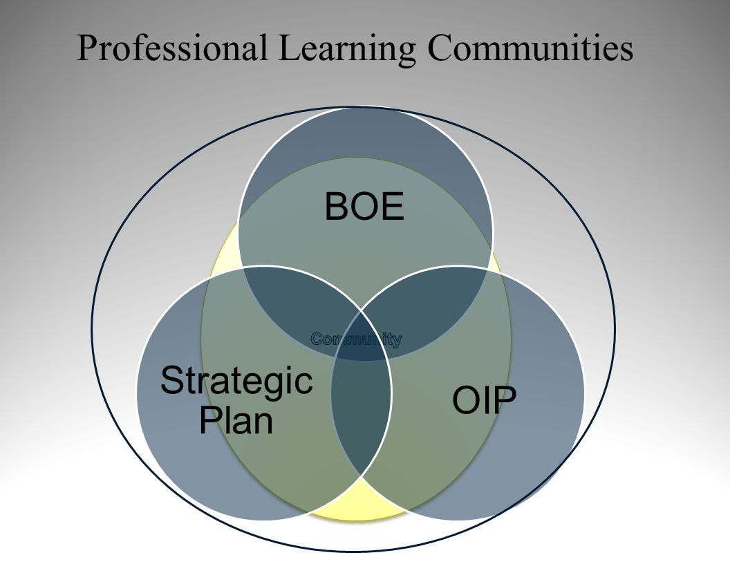 BOE OIP Strategic Plan Professional Learning Communities