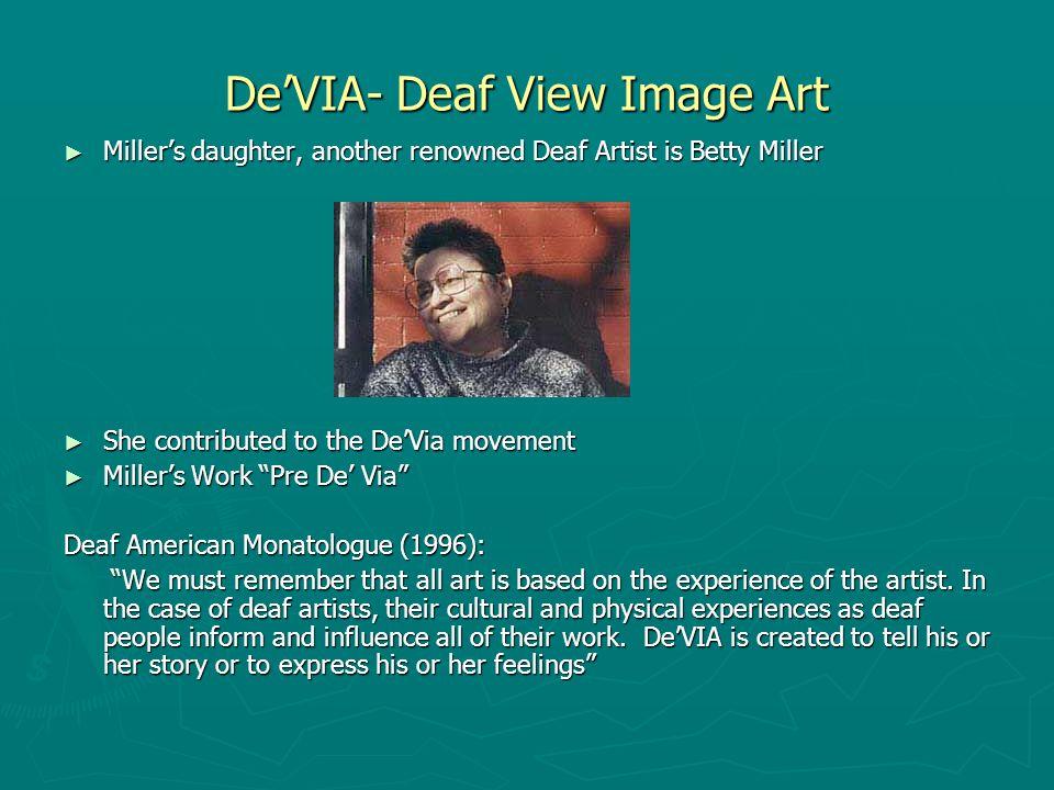 Other pieces by Miller ► An Interpreter 1979 ► Deaf Picnic