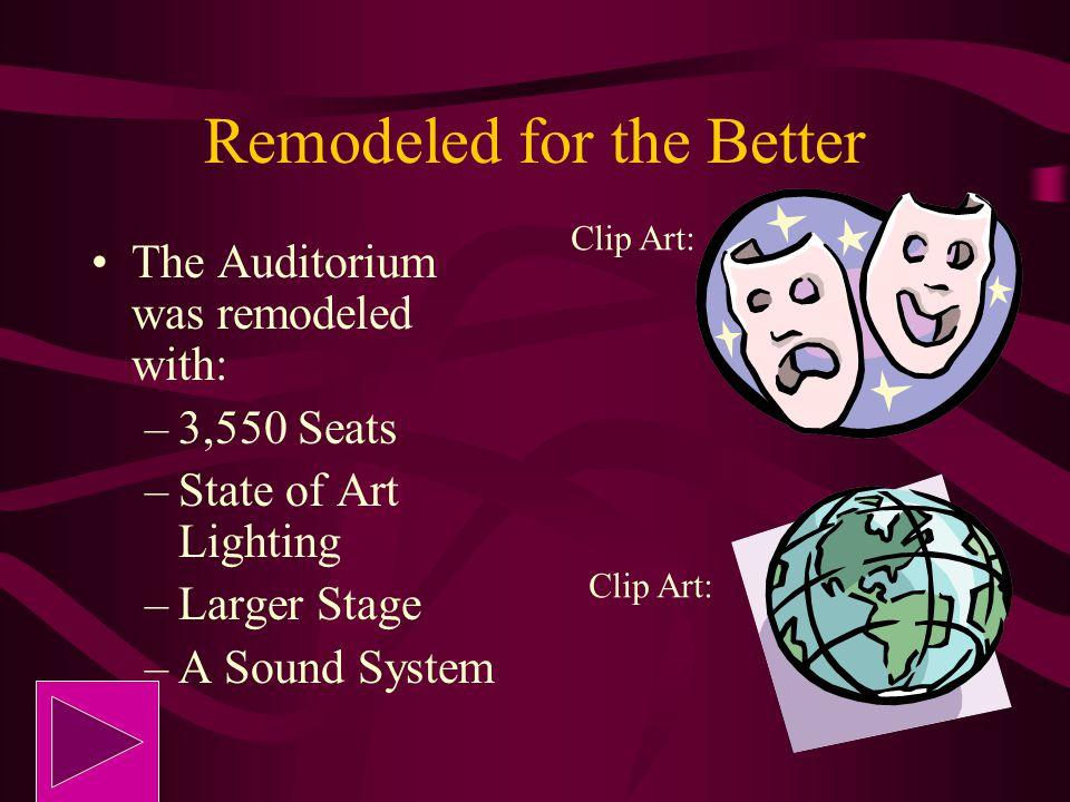 Put Kalamazoo on the Map !! WMU already had a University Auditorium In 1971, WMU renamed it to James W. Miller Auditorium The Auditorium put Kalamazoo