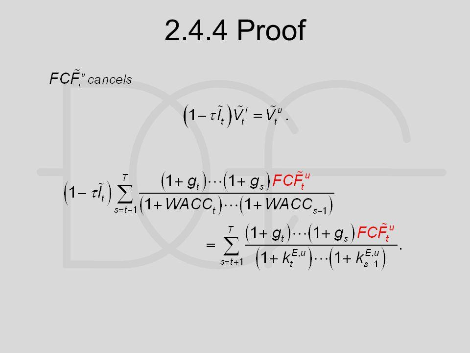 2.4.4 Proof