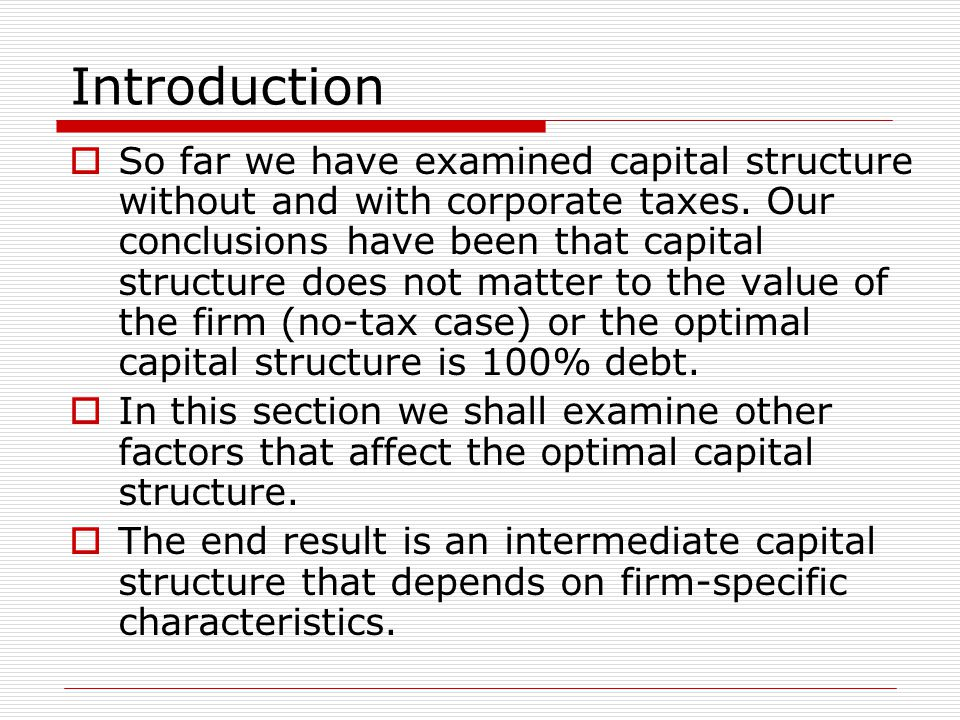 Pecking Order Theory  The Pecking Order Theory thus states that managers will finance first with retained earnings, then debt, and finally additional equity issues.