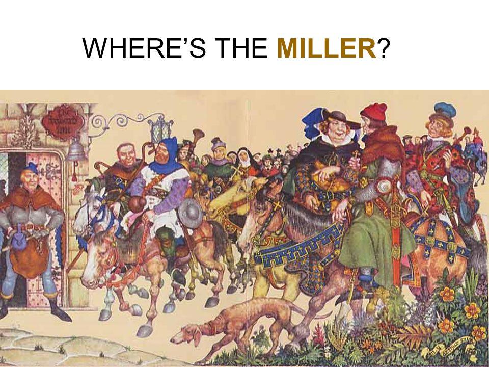WHERE'S THE MILLER