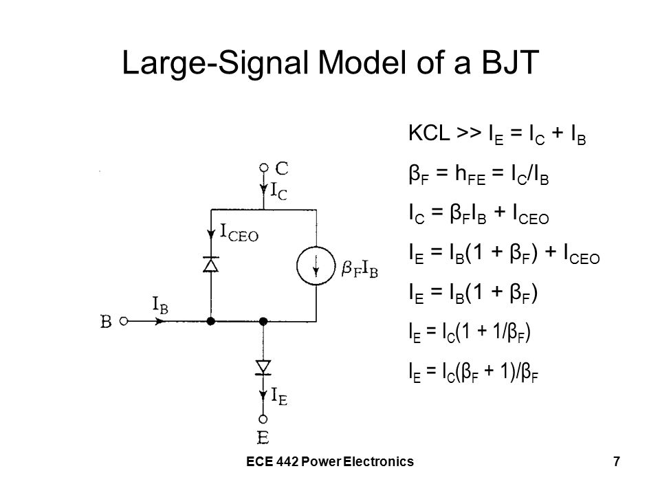 ECE 442 Power Electronics28 During the rise time, 0 ≤t ≤t r