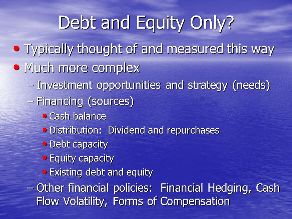 Firm Value: Perfect Capital Markets 50 70 90 110 130 150 170 190 0%25%50%75%100% D/E Value V(Unlevered) V(Levered)