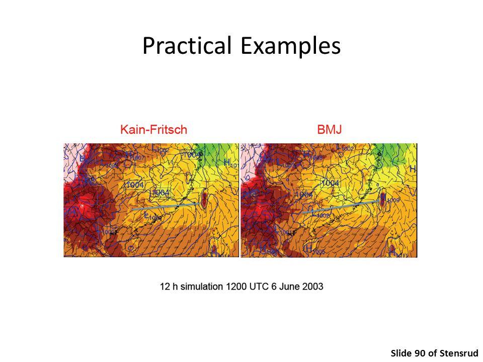 Practical Examples Slide 90 of Stensrud