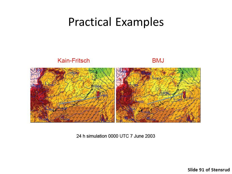 Practical Examples Slide 91 of Stensrud