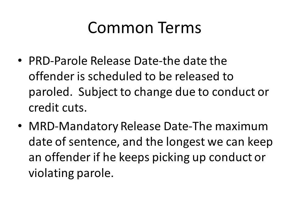 What is Parole.